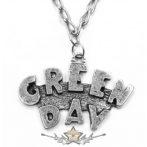 GREEN DAY -  LOGO.  nyaklánc, medál