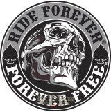 RIDE FOREVER - FOREVER FREE  felvarró