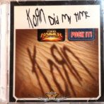 KORN - DID MY TIME. Pock It. Mini Single CD. RITKA !
