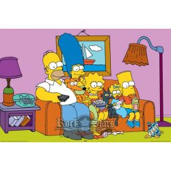 THE SIMPSONS - COUCH plakát, poszter
