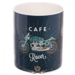 BIKER - CAFE MUG..  porcelán  bögre