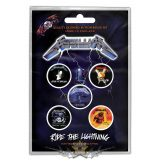 Metallica - Button Badge Pack.  Ride the Lightning   jelvényszett