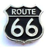 Route 66 big,   nagyméretű fém motoros jelvény