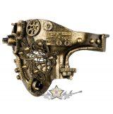 Steampunk - Half mask Tekno.  VO.842-6005.  álarc, maszk