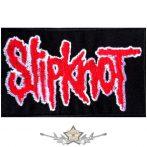 SLIPKNOT - LOGO.  hímzett  felvarró