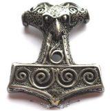 THOR HAMMER - Thor kalapács Mjölnir nyaklánc 10.   nyaklánc, medál
