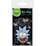 Rick and Morty - Rick Crazy Smile.  kulcstartó