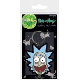 Rick and Morty - Rick Crazy Smile.  kulcstartó