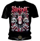 SLIPKNOT - GOAT SKULLS.   zenekaros póló