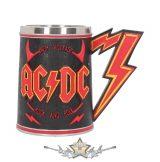 AC/DC - High Voltage Rock and Roll Tankard Lighting Horns Mug. 3D korsó