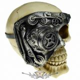 Koponya Steampunk - Skull With One Eye. .   CL.75513. koponya figura