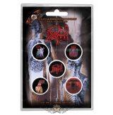 Death -  'Albums' Button Badge Packs.   jelvényszett