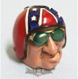Biker Butt Headz - Rebellis fazon.  cigaretta tartó, füst elnyelő figura, toll és ceruzatartó.
