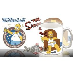 THE SIMPSONS - TO ALCOHOL  bögre
