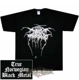 DARKTHRONE - True Norwegian Black Metal.   zenekaros  póló
