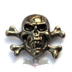 Skull,  fém motoros jelvény
