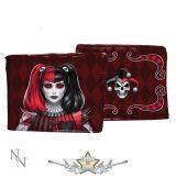 James Ryman - Dark Jester Wallet Red 11cm.   import pénztárca