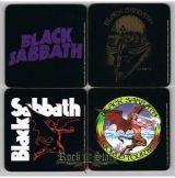BLACK SABBATH 2 design.  pohár alátét szett