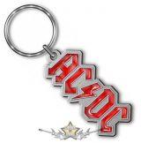 AC/DC-  'Logo' Keyring .  import fém kulcstartó