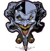 Clown - Laughing bohóc.  felvarró