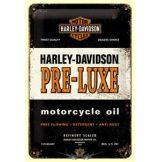 Harley Davidson - PRE - LUXE.  fém képeslap