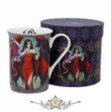 Dragon Mistress Mug .  11cm  fantasy porcelán  bögre díszdobozban
