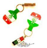 Kulcstartó - Hungary.  10cm.  fém kulcstartó + síp