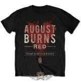 August Burns Red - Men's Tee.  Hearts Filled.  zenekaros  póló.