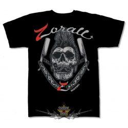 ZORALL - SKULL. zenekaros póló