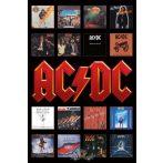 AC/DC - Logo covers.  plakát, poszter