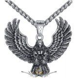 Eagle Biker - Pendant Men's Vintage.    nyaklánc, medál