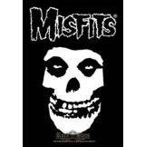 MISFITS - Classic fiend  TEXTILE POSTER. zenekaros zászló