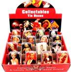 Marilyn Monroe. fém doboz, dohány, apró cikk tartó