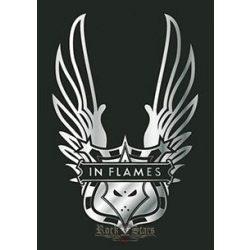 IN FLAMES - Wings. TEXTILE POSTER. zenekaros zászló