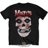 Misfits - Men's Tee.  Blood Drip Skull.  zenekaros  póló.