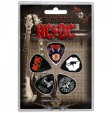 AC/DC - HIGHWAY - FOR THOSE - LET THERE..  Plectrum Pack. gitárpengető szett