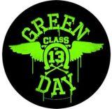 GREEN DAY - CLASS 13. LOGO.  hátfelvarró