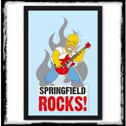 THE SIMPSONS - SPRINGFIELD ROCKS  fali tükőrkép