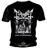 Mayhem - Logo.  zenekaros  póló.