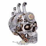 Pipe Dream * Steampunk skulls. 20.5cm.  koponya figura,