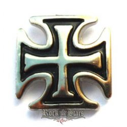 Iron cross,  HM. 2,5.cm. fém motoros jelvény