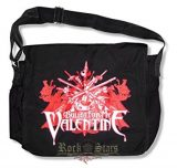 Bullet for My Valentine - Messenger Bag- Sword Burst Logo.   import válltáska